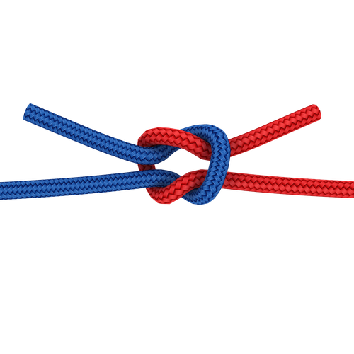 how to make a reef knot