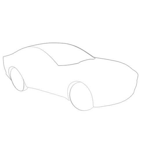 How To Draw 3d Images Car Lesson