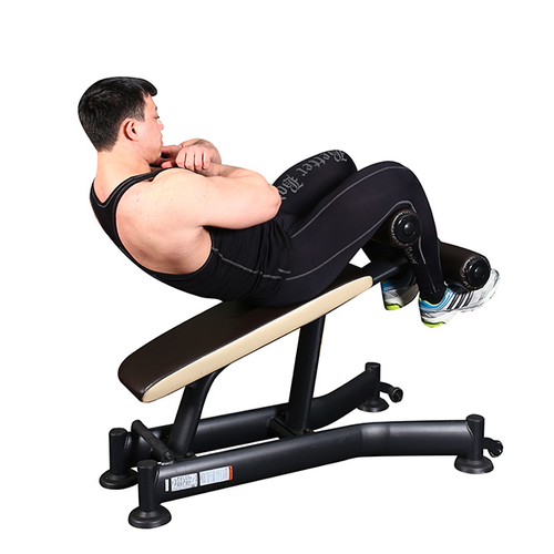 Fitness For Men Incline Bench Crunches