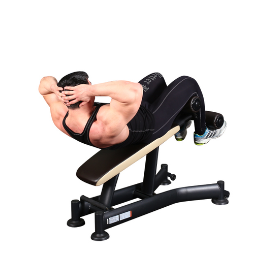 Fitness For Men Incline Twisting Crunches Lesson
